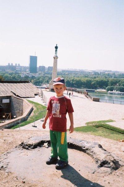Il piccolo fotografo - iznad grada