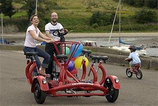 Seven Cycle - konferencijski bicikl