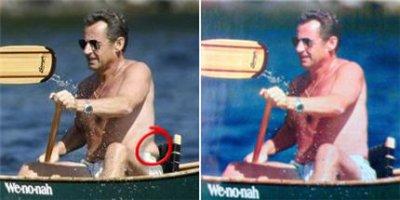 Nicholas Sarkozy - savršeno telo - pre i posle