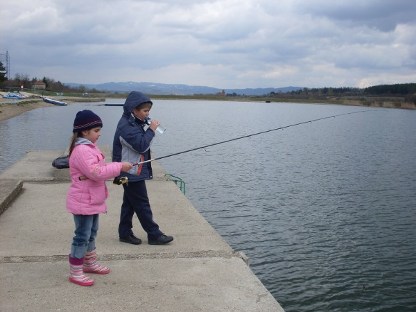 Jezero Šumarice, 1. april 2012.