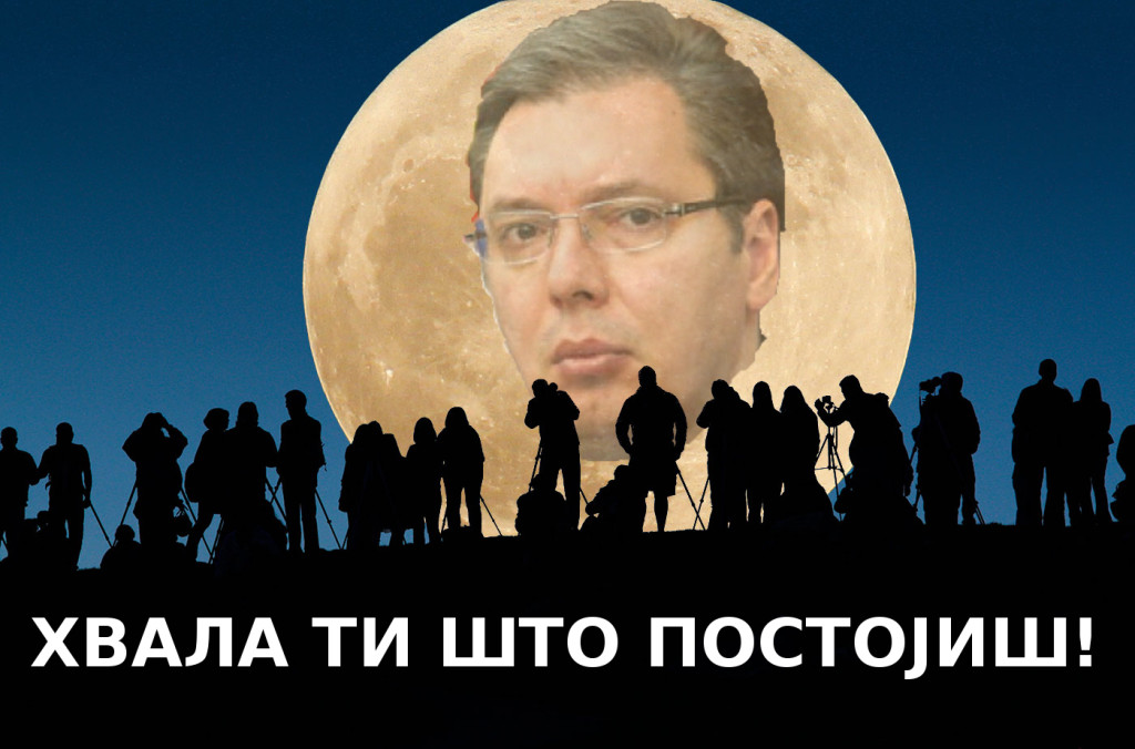 Super Vučić nad Srbijom