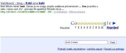 Google.ba - Sve o kaki