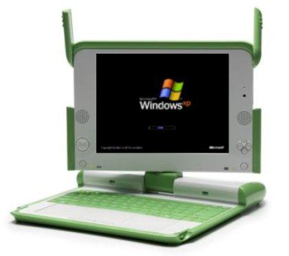 WinXP OLPC XO laptop