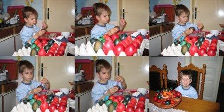Farbanje jaja na Veliki Petak 2007