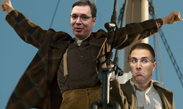 Na krmi Titanika